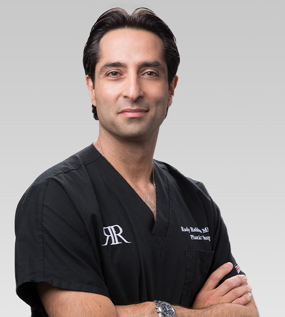 Close Up of Beverly Hills Plastic Surgeon, Dr Rady Rahban