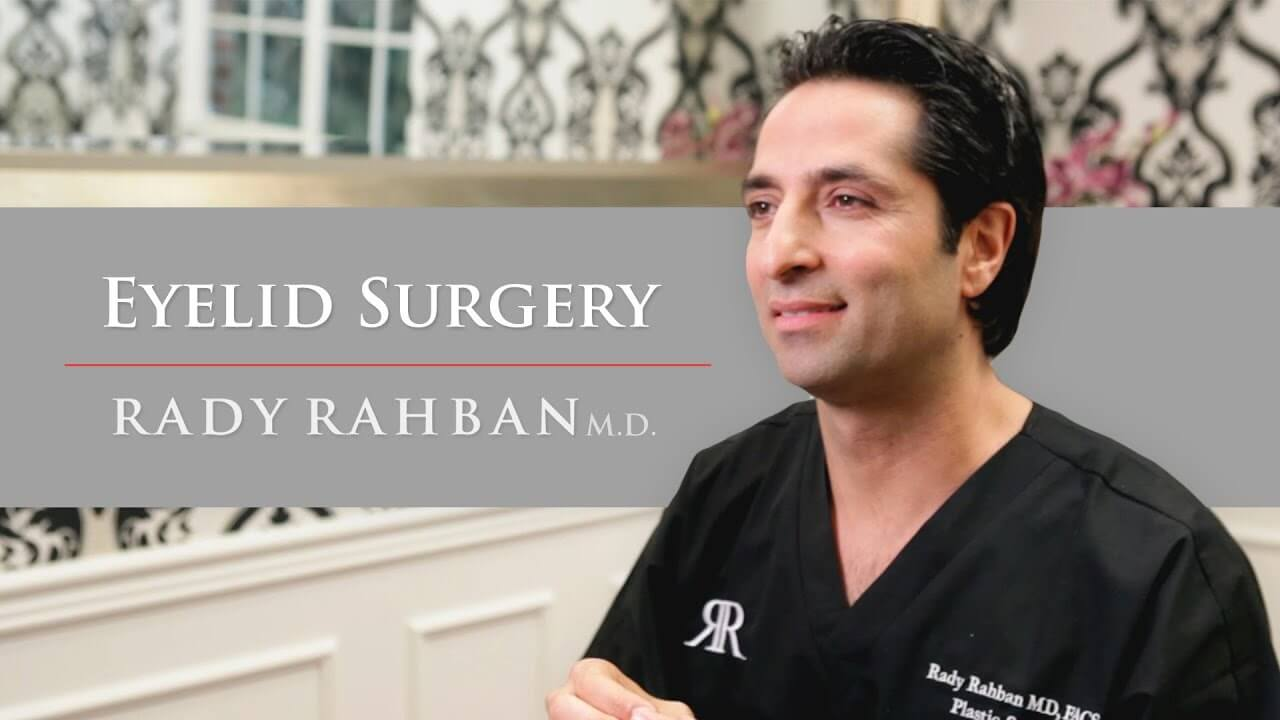 Video of Dr. Rahban, a board certified plastic surgeon in Beverly Hills, talking about his approach to Eyelid Surgery