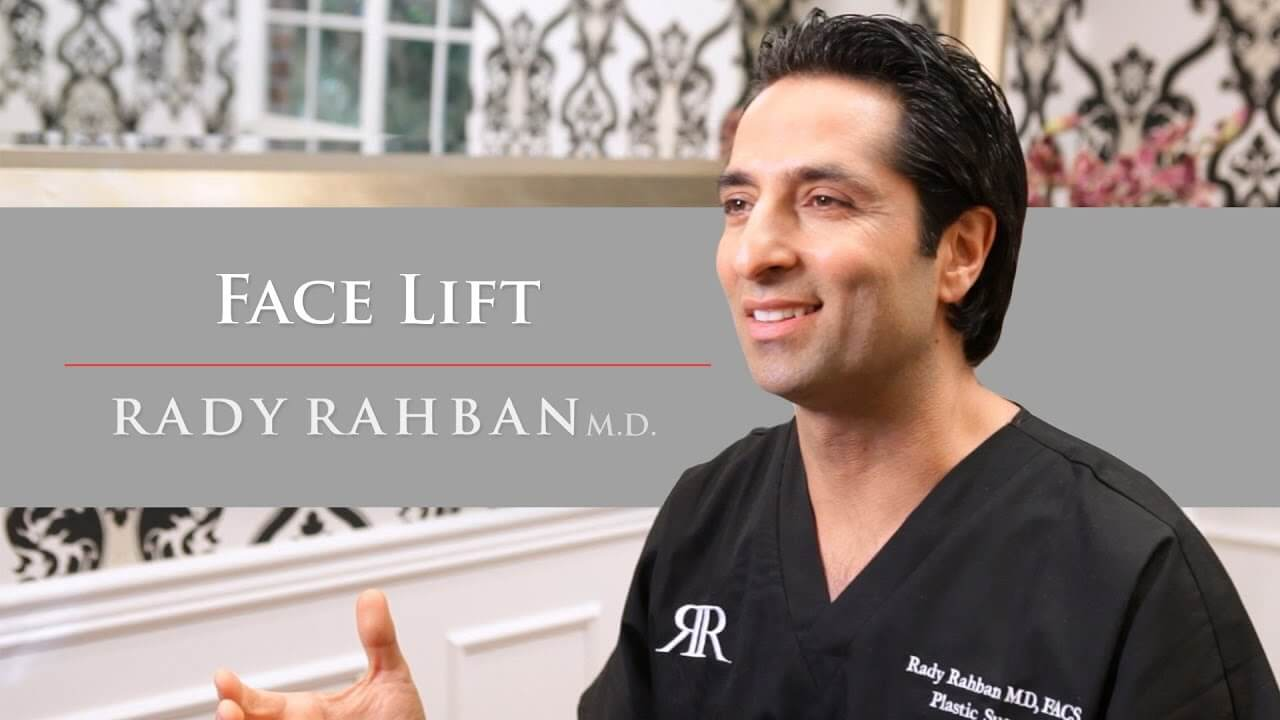 Video of Dr. Rahban talking about his approach to Facelift Surgery