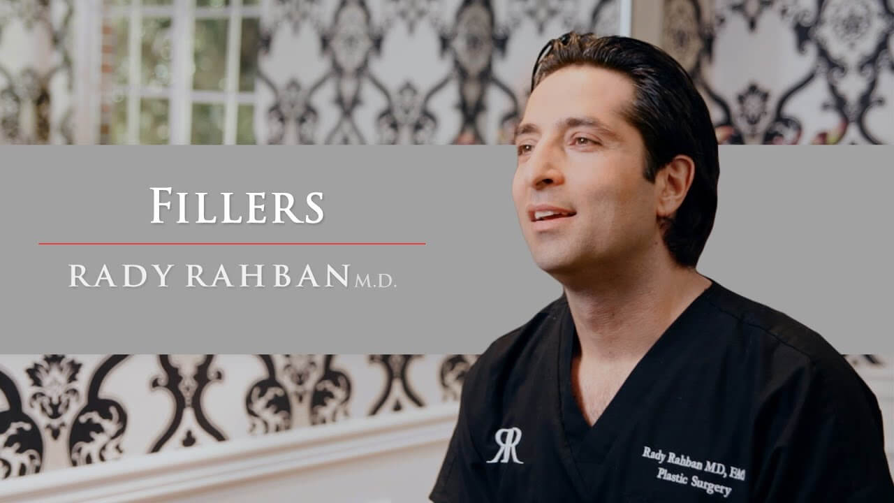 Video of Dr. Rahban talking about his approach to fillers (injectables)