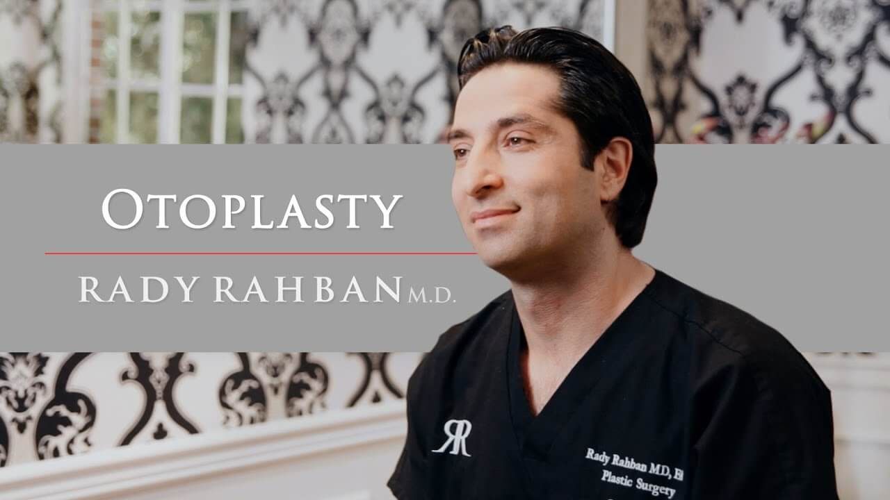 Video of Dr. Rahban talking about his approach to Otoplasty (Ear Surgery)