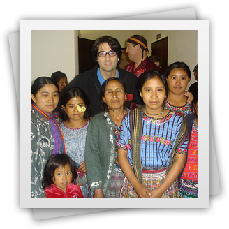Dr. Rahban with family in Guatemala
